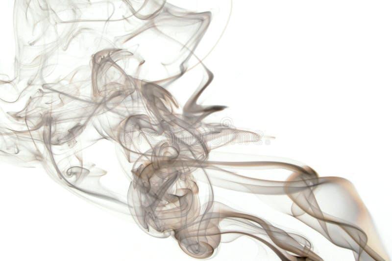 Abstracte rookachtergrond stock afbeelding