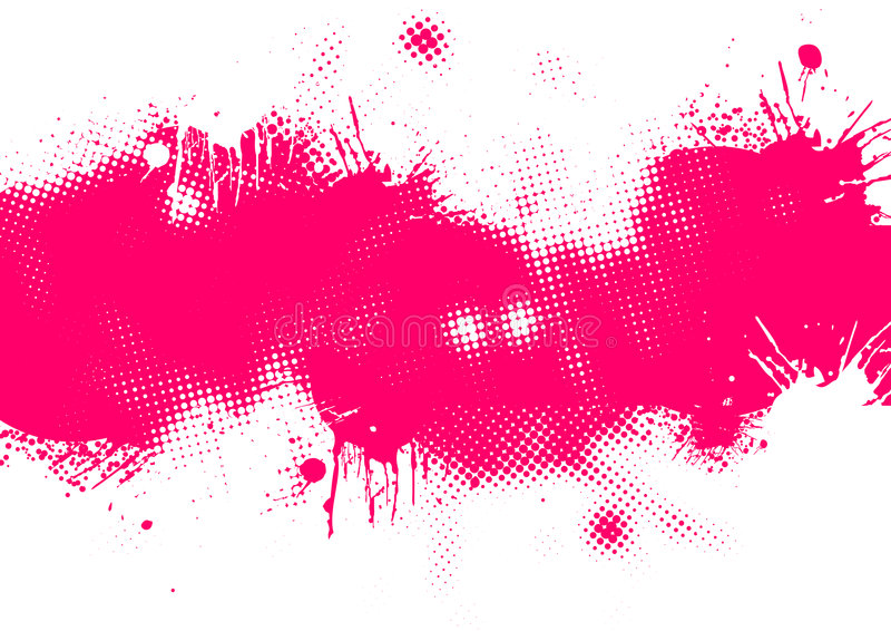Abstracte Roze Achtergrond royalty-vrije illustratie
