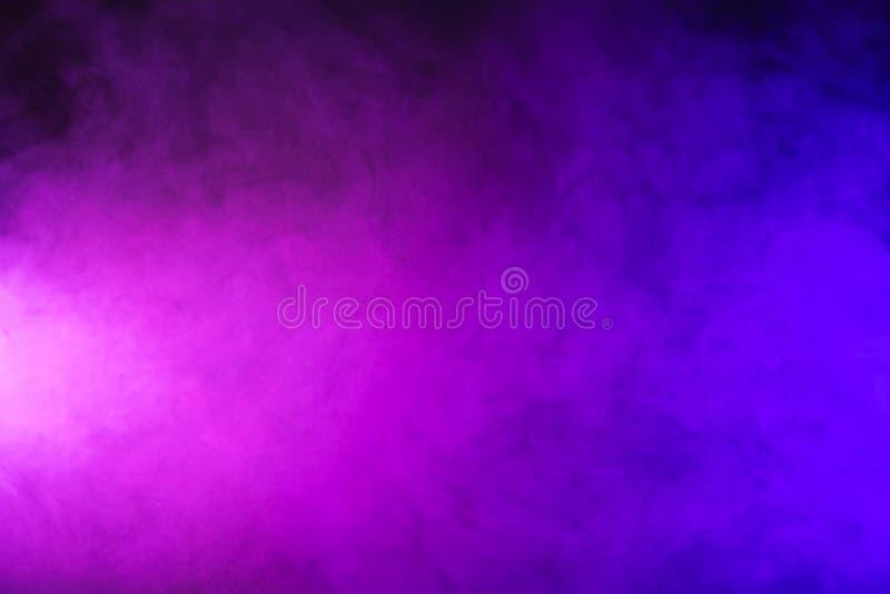abstracte roze en purpere rook royalty-vrije stock foto's
