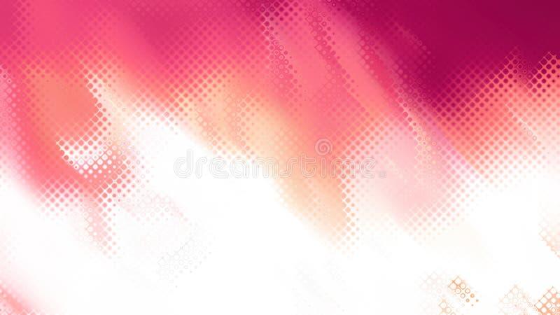 Abstracte Roze en Witte Achtergrondafbeelding royalty-vrije illustratie
