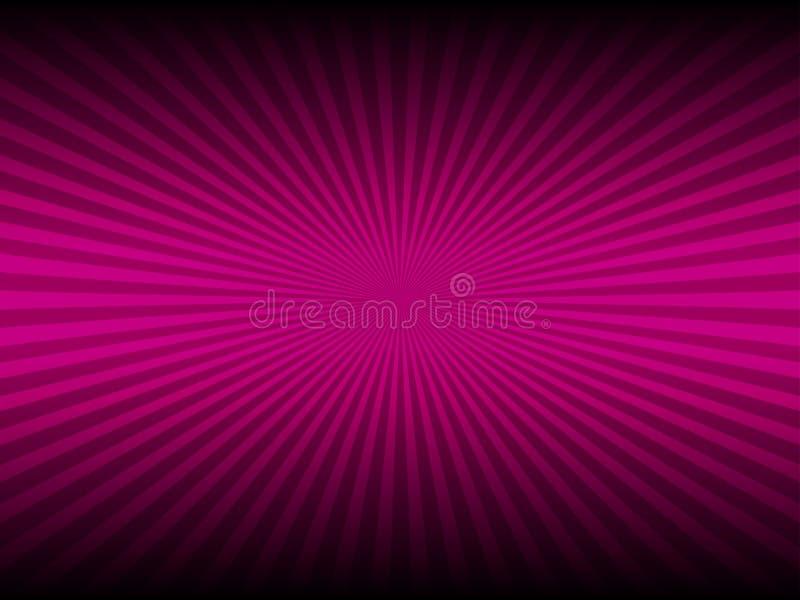 Abstracte roze kleur en lijn gloeiende achtergrond royalty-vrije illustratie