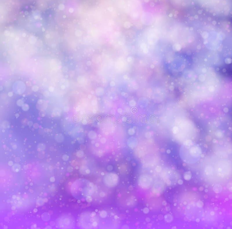 Abstracte roze zachte bokehachtergrond vector illustratie