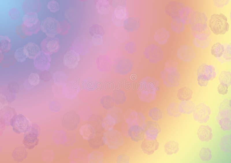 Abstracte rozenachtergrond stock foto's