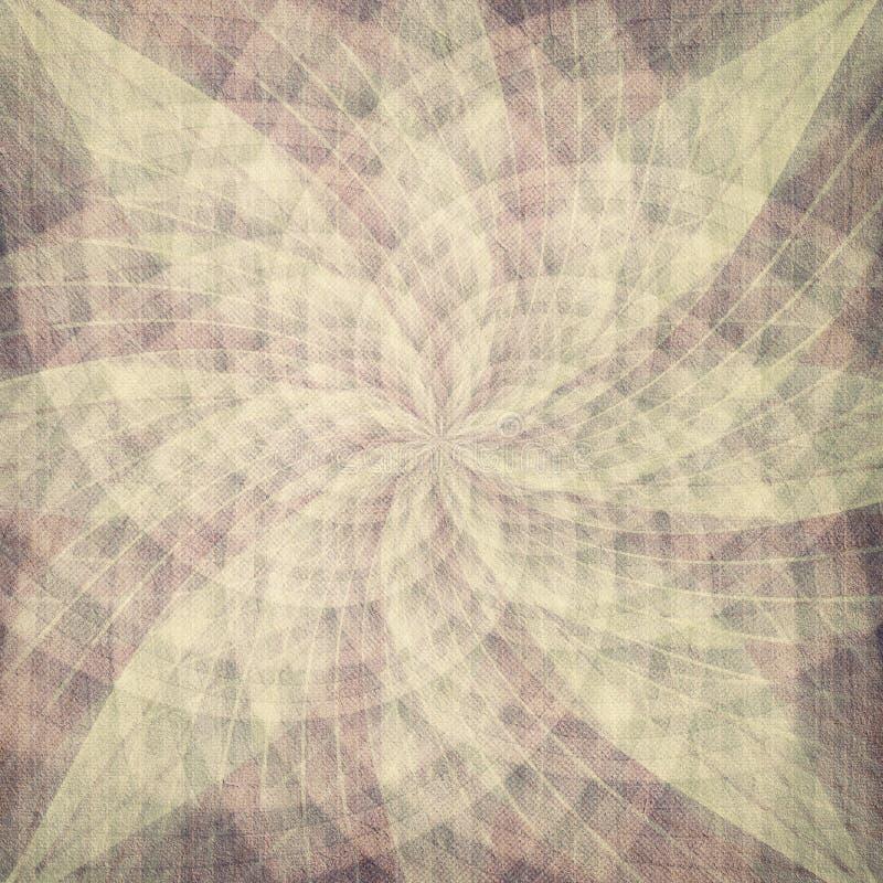 Abstracte rozetachtergrond royalty-vrije illustratie