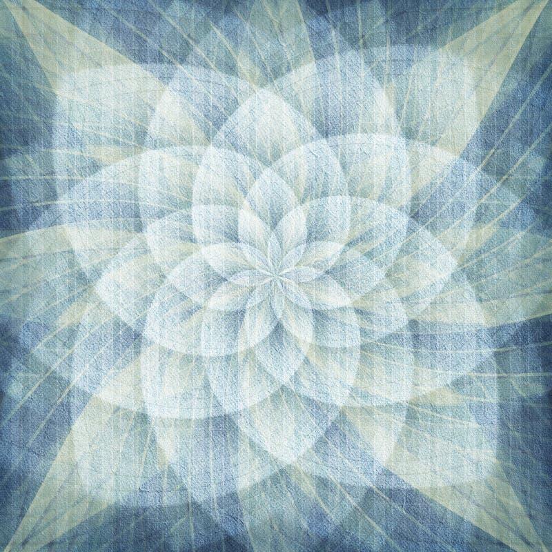 Abstracte rozetachtergrond vector illustratie