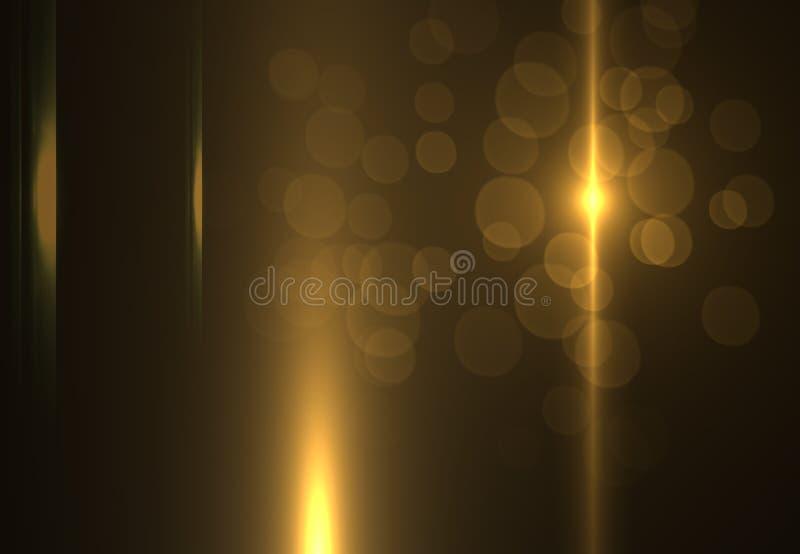 Abstracte ruimtelichten als achtergrond op zwarte achtergrond (super hoge resolutie) vector illustratie