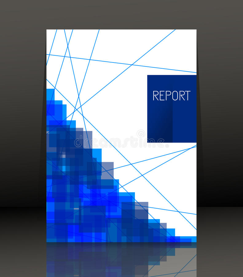 Abstracte samenstelling Malplaatjeontwerp voor vlieger certificaat stock illustratie
