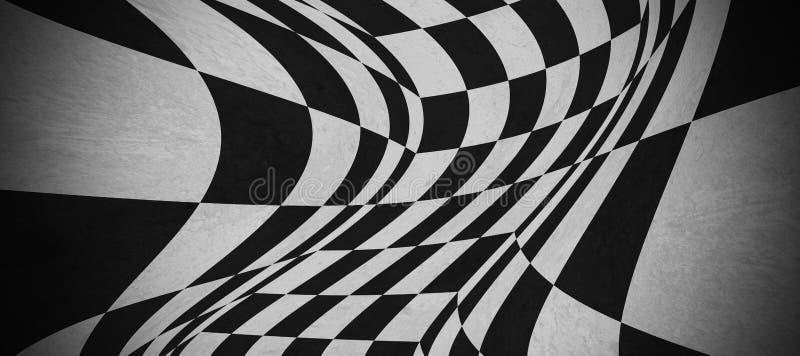 Abstracte schaakbordtextuur stock afbeeldingen