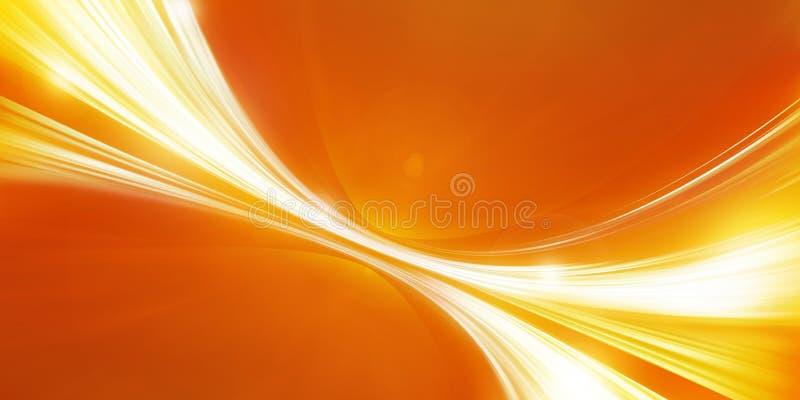 Abstracte sinaasappel als achtergrond stock illustratie
