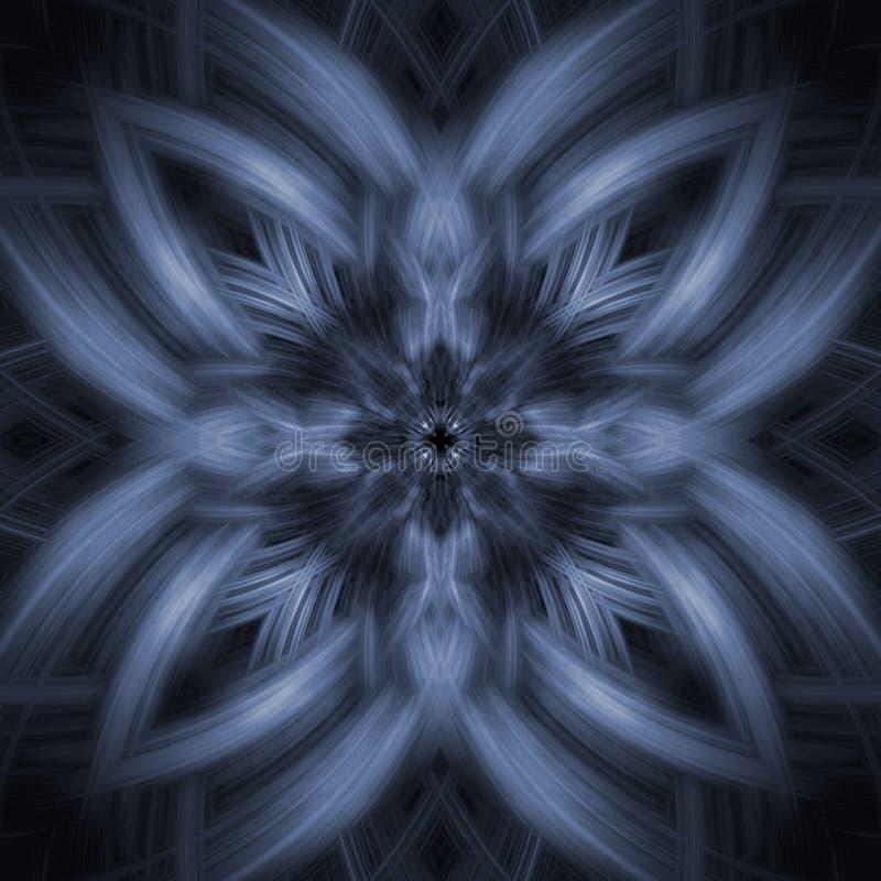Abstracte sneeuwvlok royalty-vrije stock foto