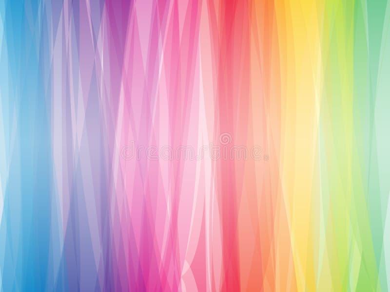 Abstracte spectrumachtergrond royalty-vrije illustratie
