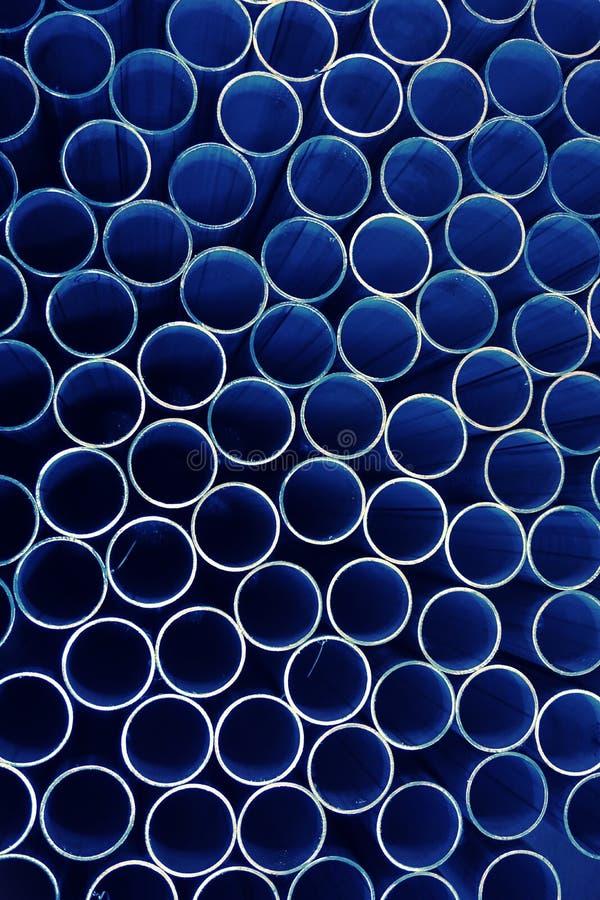 Abstracte stapel van ronde buis royalty-vrije stock foto