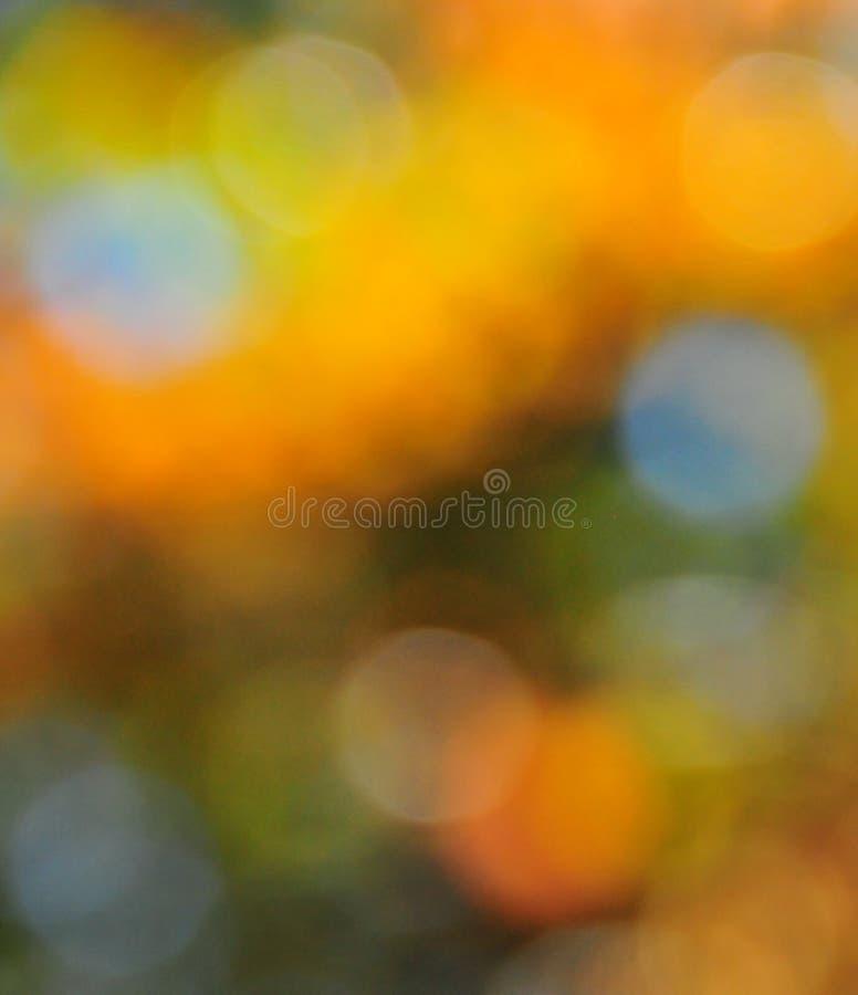 Abstracte Stemmingsachtergrond in Bruine Groen en Blauw royalty-vrije stock afbeeldingen