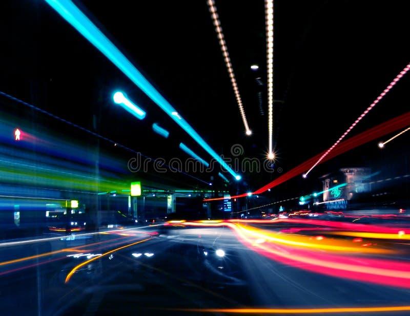 Abstracte Straat stock afbeelding