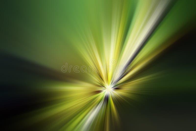 Abstracte stralen stock illustratie