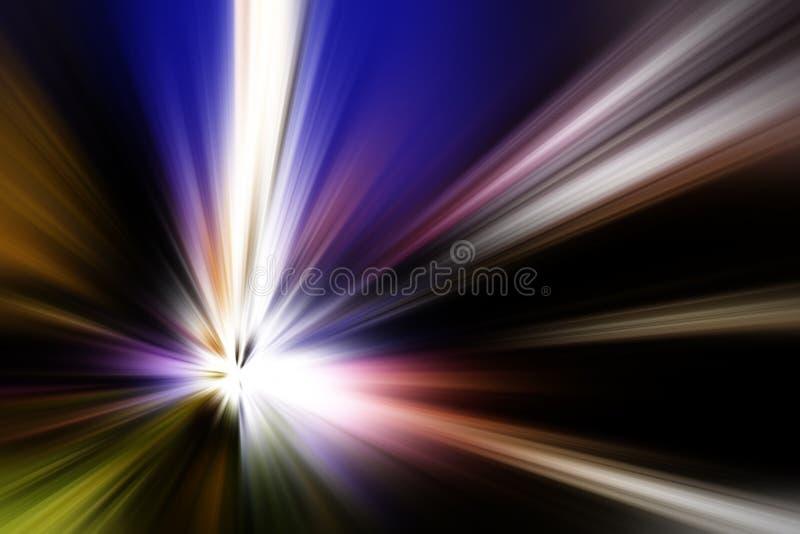 Abstracte stralen als achtergrond stock afbeeldingen