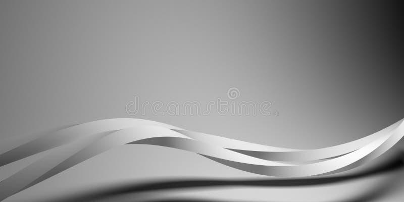 Abstracte stroom vector illustratie