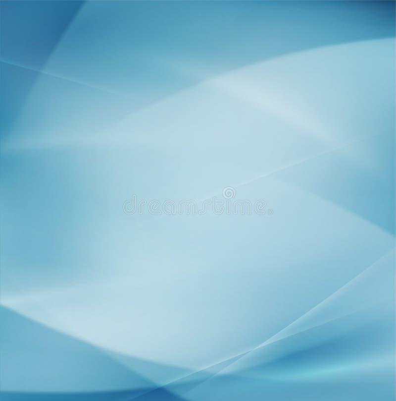 Abstracte stroom vlotte kromme en schone achtergrond voor wetenschap of technologieconcept, Vector & illustratie vector illustratie