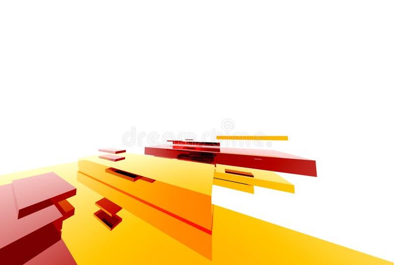 Abstracte Structure013 royalty-vrije illustratie