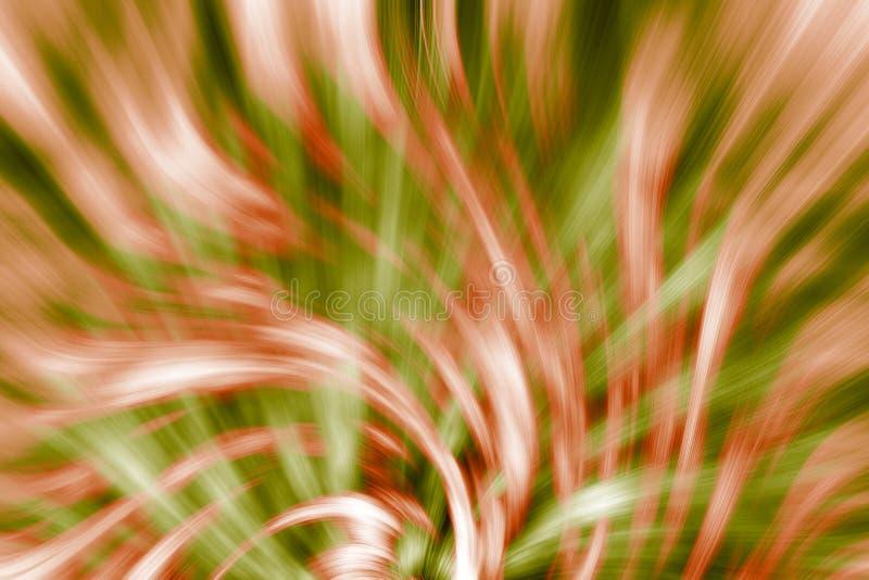 Abstracte swirly patroonillustratie als achtergrond vector illustratie