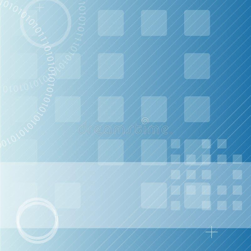 Abstracte technoachtergrond vector illustratie