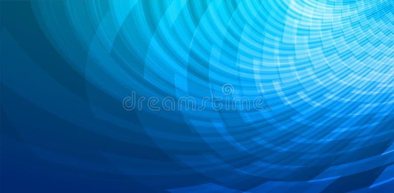 Abstracte technologieconcept geïllustreerde achtergrond stock afbeelding