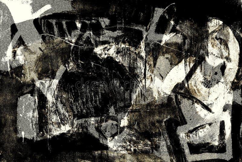 Abstracte tekens stock illustratie