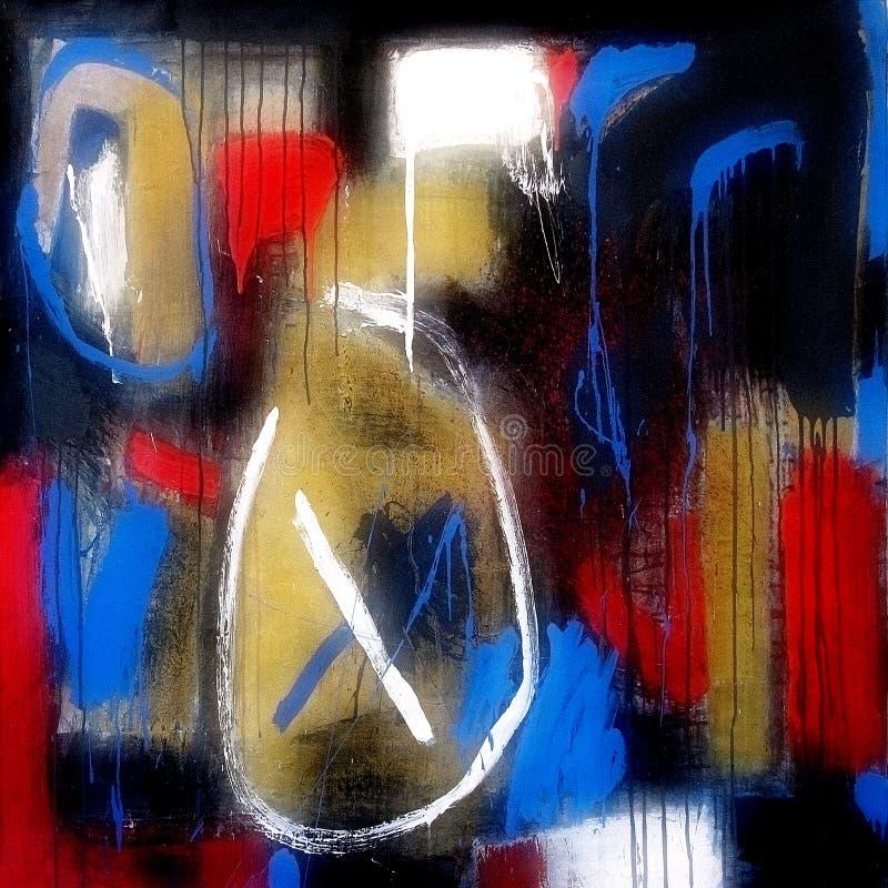 Abstracte tekens stock afbeelding