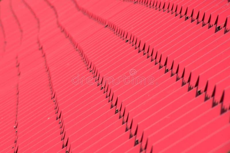 Abstracte textuur als achtergrond, architecturale details, rode ceramische daktegels stock foto