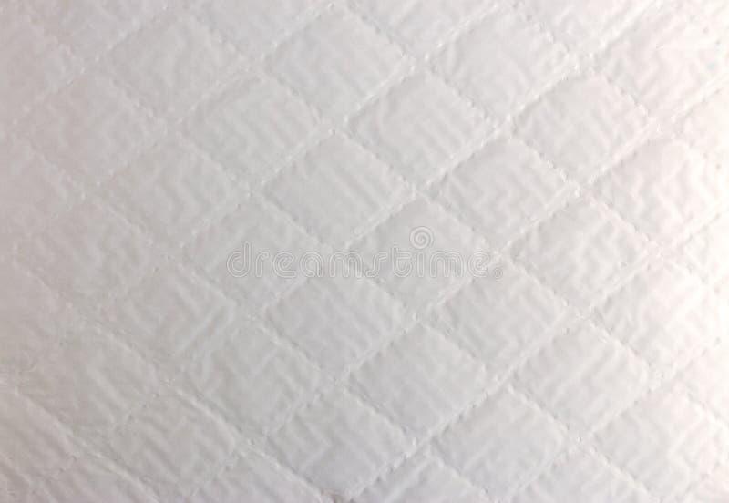 Abstracte textuur als achtergrond van wit hobbelig document met ruitensha royalty-vrije stock afbeelding