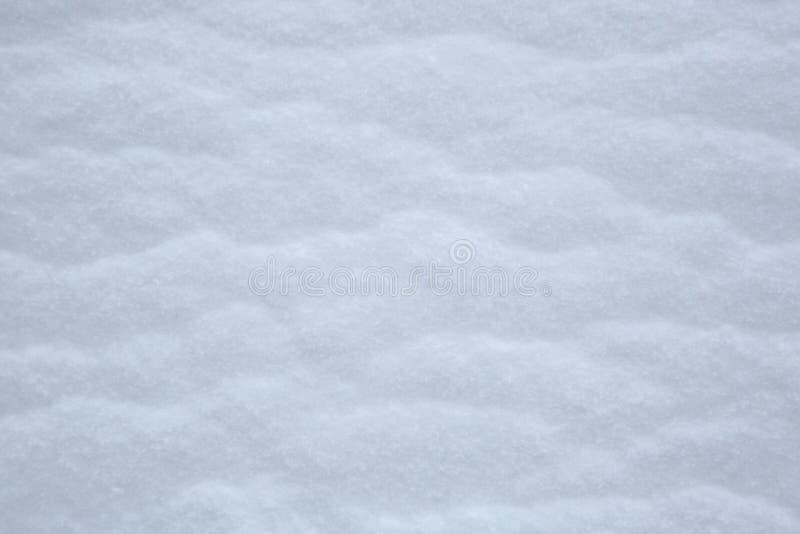Abstracte Textuur Geblazen Sneeuw royalty-vrije stock afbeelding
