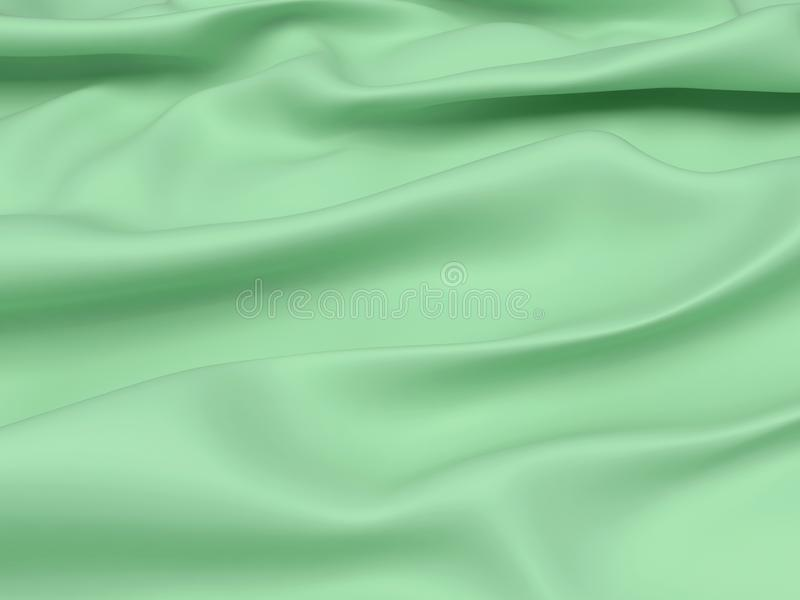 Abstracte Textuur, Groene Zijde vector illustratie