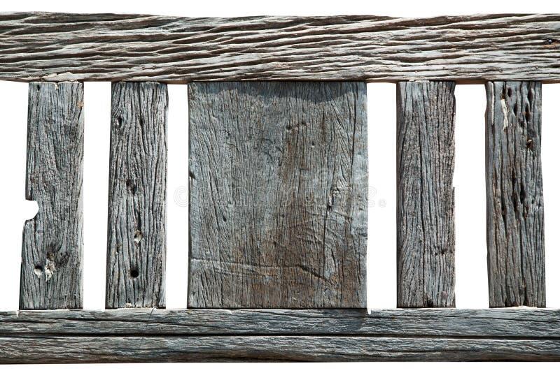 Abstracte textuur van oud hout op witte achtergrond, houten decorati stock afbeeldingen