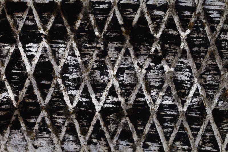 Abstracte textuur zwarte witte diamanten stock fotografie