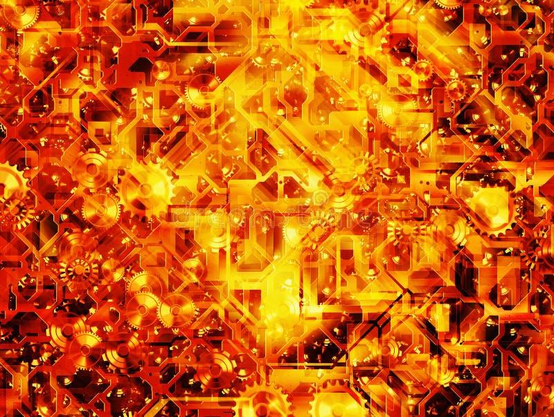 Abstracte toestel moderne achtergronden vector illustratie