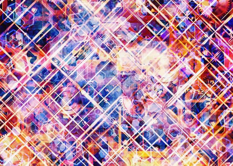 Abstracte toestelachtergronden vector illustratie