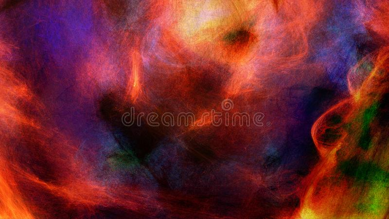 Abstracte Trillende Gekleurde Geweven Achtergrond royalty-vrije illustratie