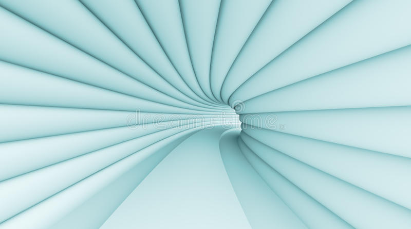 Abstracte Tunnel royalty-vrije illustratie