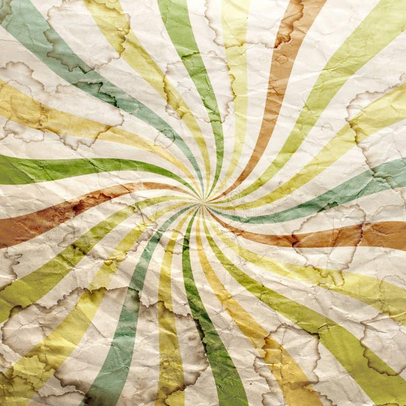 Abstracte uitstekende document textuur stock fotografie