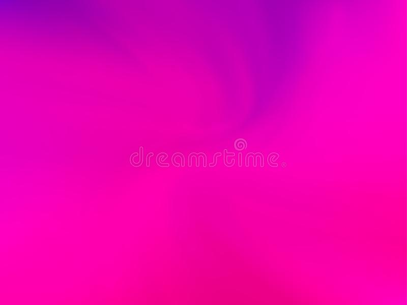 Abstracte ultraviolet vage achtergrond De vlotte kleur van de gradiënttextuur Vector illustratie vector illustratie