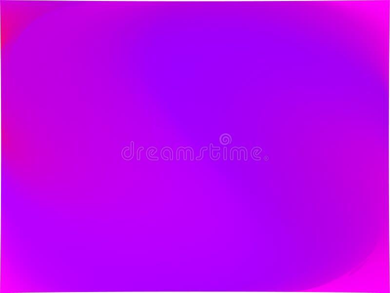 Abstracte ultraviolet vage achtergrond De vlotte kleur van de gradiënttextuur Vector illustratie royalty-vrije illustratie