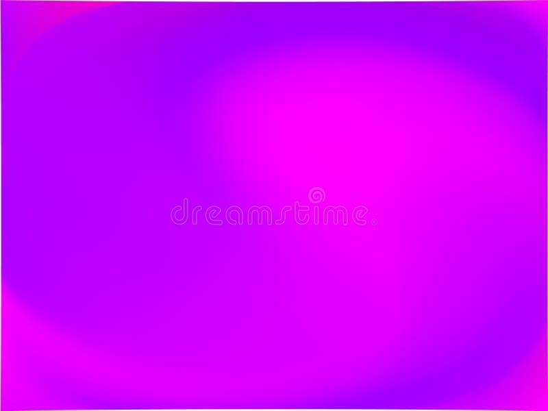 Abstracte ultraviolet vage achtergrond De vlotte kleur van de gradiënttextuur Vector illustratie stock illustratie