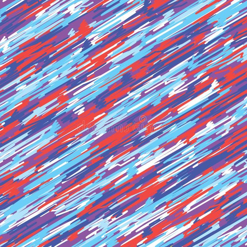 Abstracte vakantieachtergrond met gekleurd royalty-vrije illustratie