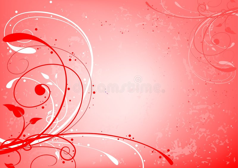 Abstracte valentijnskaart stock illustratie