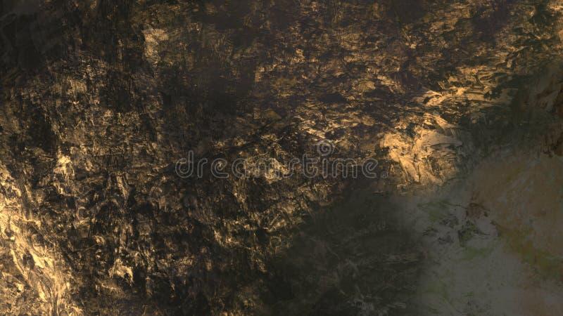 Abstracte van de het landschapsoppervlakte van het textuur materi?le geologische terrein mooie digitale de illustratieachtergrond stock illustratie