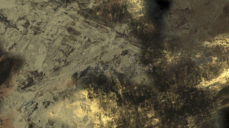 Abstracte van de het landschapsoppervlakte van het textuur materi?le geologische terrein mooie digitale de illustratieachtergrond vector illustratie