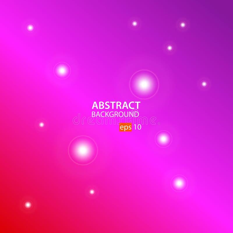 Abstracte vector als achtergrond met Rood, Roze en Purple stock illustratie