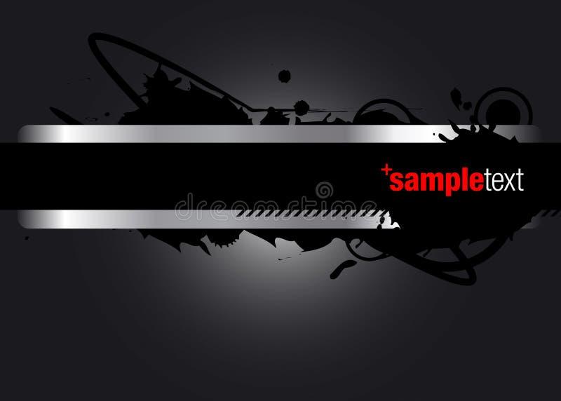 Abstracte Vector Grafisch stock illustratie