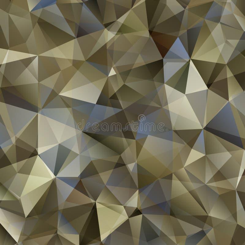 Abstracte Vector Militaire Camouflageachtergrond stock illustratie