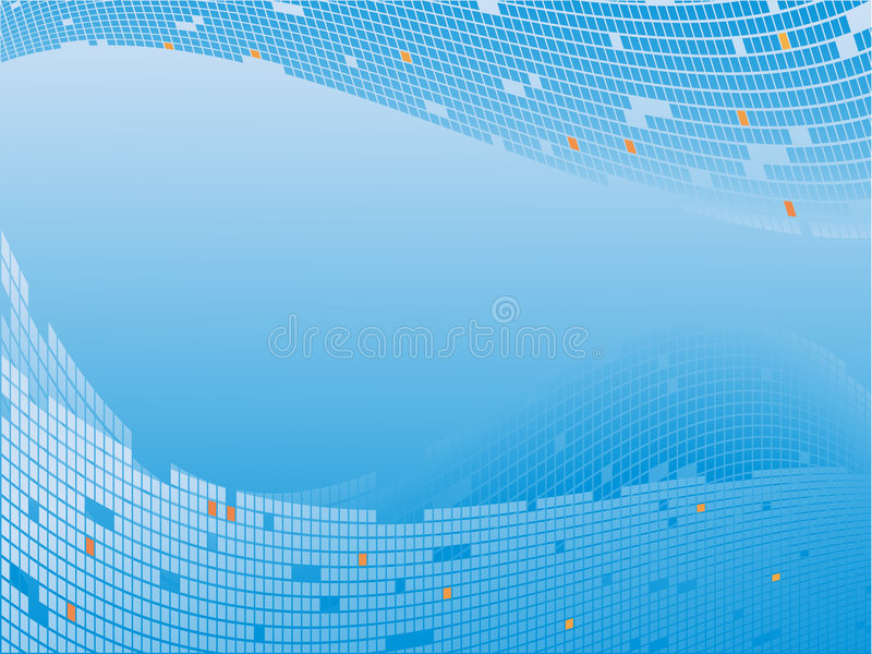 Abstracte vector technologycal stock illustratie